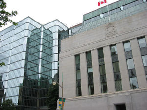 The Bank of Canada Building in Ottawa