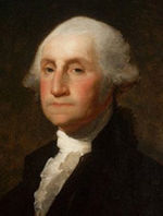 First President of the United States under the Constitution, George Washington (1789-1797).